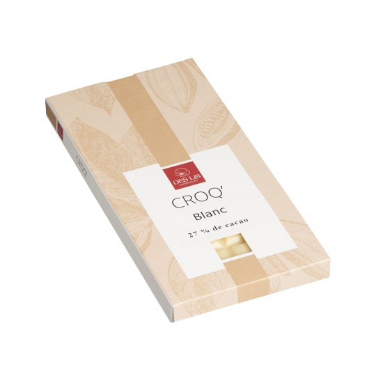 Tablette chocolat blanc 100g
