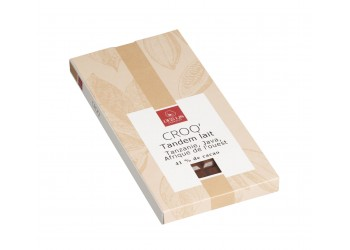 "Tablette Milk Chocolate 41% Cocoa, ""Tandem""100g"