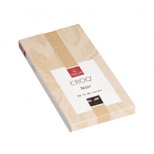 Tablette chocolat noir 100g
