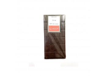 Tablette Origine Pérou, 100% de cacao, 100g